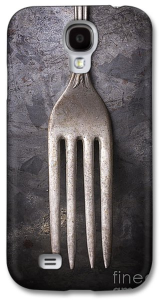 Studio Photographs Galaxy S4 Cases - Fork Still Life Galaxy S4 Case by Edward Fielding
