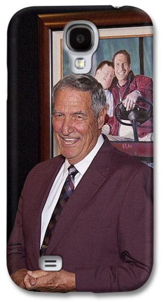 Tuscaloosa Galaxy S4 Cases - Former Coach of Alabama Gene Stallings Galaxy S4 Case by Mountain Dreams