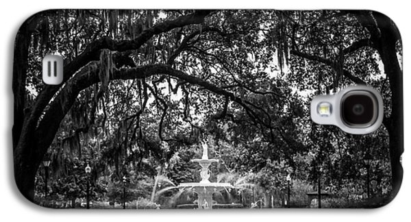 Historical Pictures Galaxy S4 Cases - Forsyth Park Galaxy S4 Case by Perry Webster