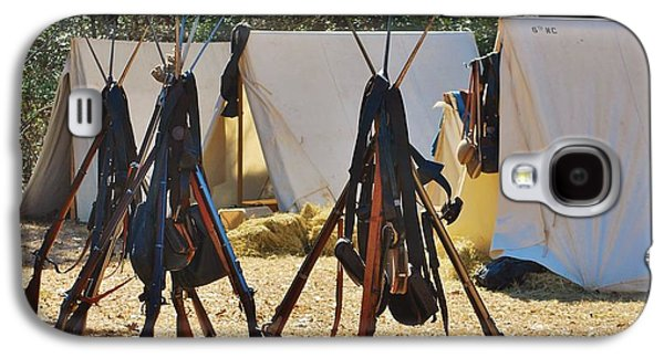 Historical Re-enactments Galaxy S4 Cases - Fort Anderson Civil War Re Enactment 3 Galaxy S4 Case by Jocelyn Stephenson