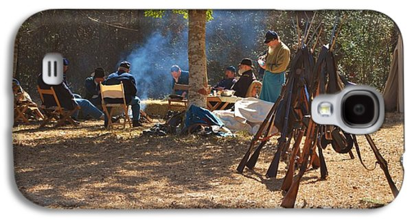Historical Re-enactments Galaxy S4 Cases - Fort Anderson Civil War Re Enactment 4 Galaxy S4 Case by Jocelyn Stephenson