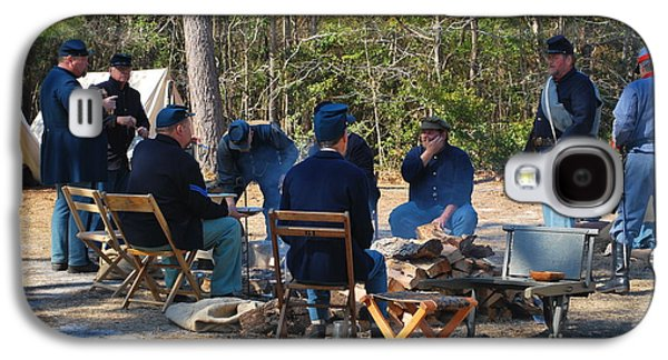 Historical Re-enactments Galaxy S4 Cases - Fort Anderson Civil War Re Enactment 5 Galaxy S4 Case by Jocelyn Stephenson