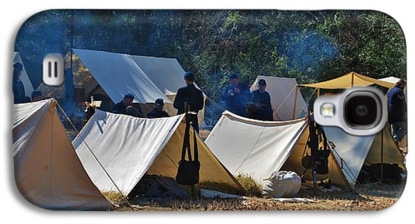 Historical Re-enactments Galaxy S4 Cases - Fort Anderson Civil War Re Enactment 1 Galaxy S4 Case by Jocelyn Stephenson