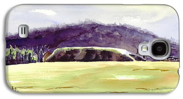 The Hills Mixed Media Galaxy S4 Cases - Fort Davidson Battlefield Mid Day Galaxy S4 Case by Kip DeVore