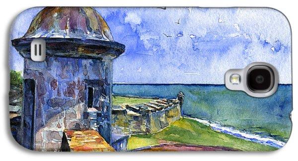 Fort San Juan Puerto Rico Galaxy S4 Case by John D Benson