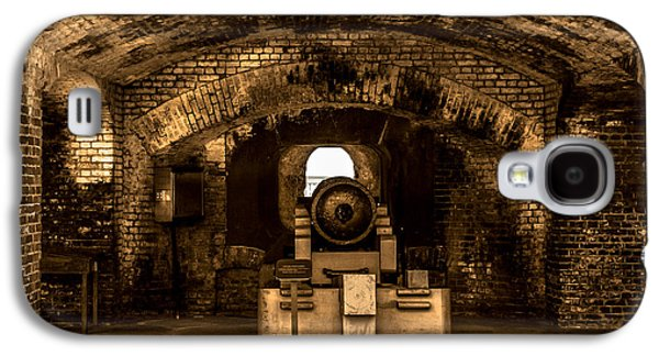 Fort Sumter Famous Cannon Galaxy S4 Case by Optical Playground By MP Ray