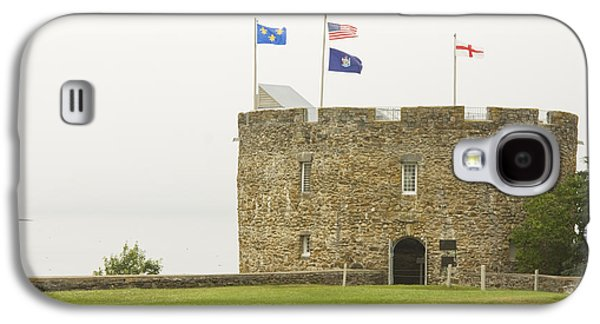 Strong America Galaxy S4 Cases - Fort William Henry Bristol Maine Galaxy S4 Case by Keith Webber Jr