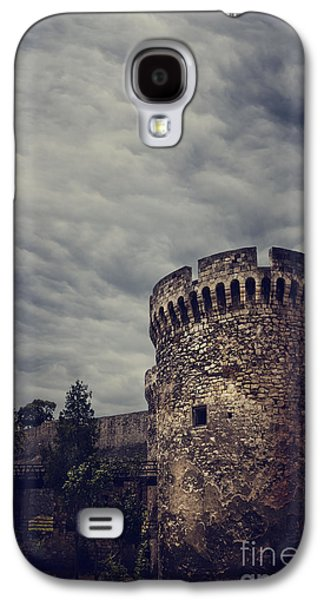 Landmarks Pyrography Galaxy S4 Cases - Fortress Galaxy S4 Case by Jelena Jovanovic