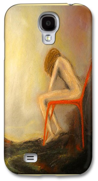 Chair Pastels Galaxy S4 Cases - Found Galaxy S4 Case by C Pichura
