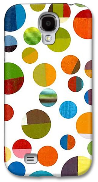 Colorful Abstract Galaxy S4 Cases - Found My Marbles 1.0 Galaxy S4 Case by Michelle Calkins