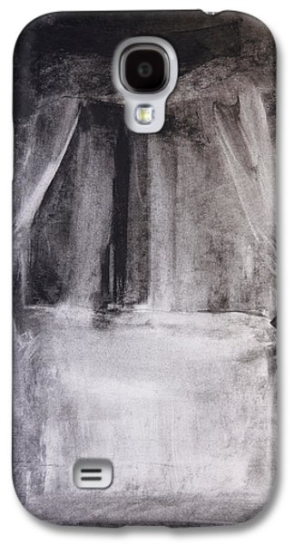 White Pastels Galaxy S4 Cases - Four Poster Galaxy S4 Case by Janet Goddard