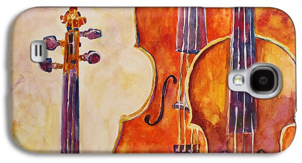 Four Violins Galaxy S4 Case by Jenny Armitage