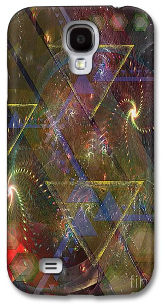 Fourth Of July Mixed Media Galaxy S4 Cases - Fourth Of July Galaxy S4 Case by John Robert Beck