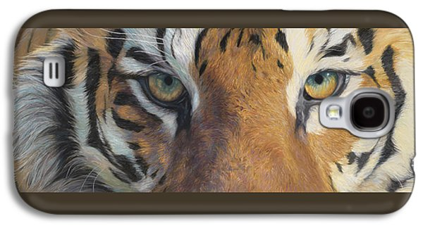 Tiger Galaxy S4 Cases - Forever Wild Galaxy S4 Case by Lucie Bilodeau