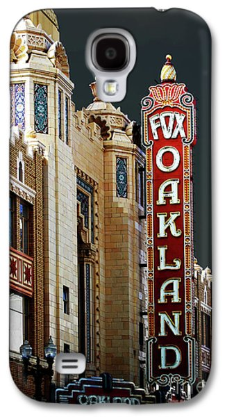 Wing Tong Galaxy S4 Cases - Fox Theater . Oakland California Galaxy S4 Case by Wingsdomain Art and Photography