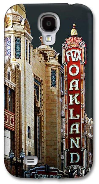 Wingsdomain Galaxy S4 Cases - Fox Theater . Oakland California Galaxy S4 Case by Wingsdomain Art and Photography