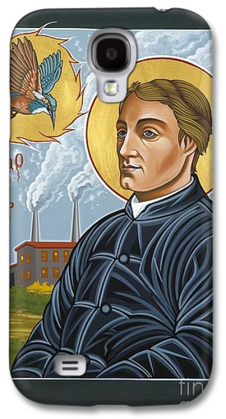 Manley Galaxy S4 Cases - Fr. Gerard Manley Hopkins The Poets Poet Galaxy S4 Case by William Hart McNichols
