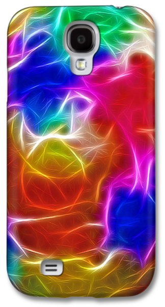 Morphing Galaxy S4 Cases - Fractal Egg Galaxy S4 Case by Steve Ohlsen