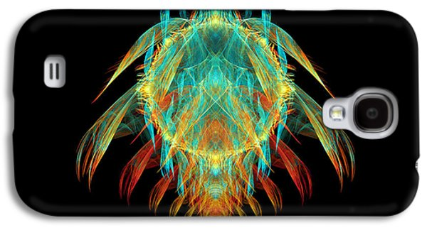 Creepy Digital Art Galaxy S4 Cases - Fractal - Insect - I found it in my cereal Galaxy S4 Case by Mike Savad