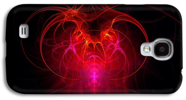 Suburban Digital Art Galaxy S4 Cases - Fractal - Science - The neural network Galaxy S4 Case by Mike Savad