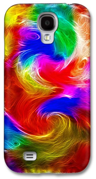 Morphing Galaxy S4 Cases - Fractal Turbulence Galaxy S4 Case by Steve Ohlsen