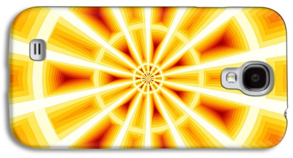 Deceptive Galaxy S4 Cases - Fractoptical Fractillusion Galaxy S4 Case by M Rao