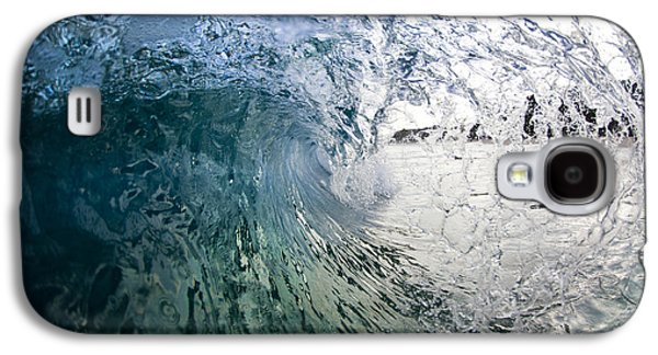 Ocean Art Photography Galaxy S4 Cases - Fractured tube. Galaxy S4 Case by Sean Davey