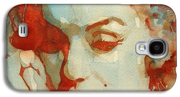 Actors Paintings Galaxy S4 Cases - Fragile Galaxy S4 Case by Paul Lovering