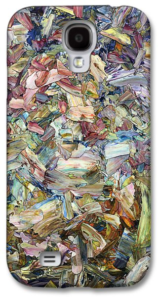 Expressionism Galaxy S4 Cases - Roadside Fragmentation Galaxy S4 Case by James W Johnson