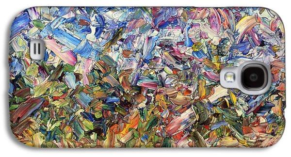 Fragmented Garden Galaxy S4 Case by James W Johnson