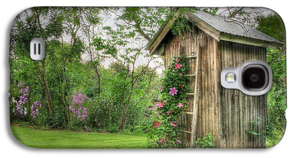 Lori Deiter Digital Art Galaxy S4 Cases - Fragrant Outhouse Galaxy S4 Case by Lori Deiter