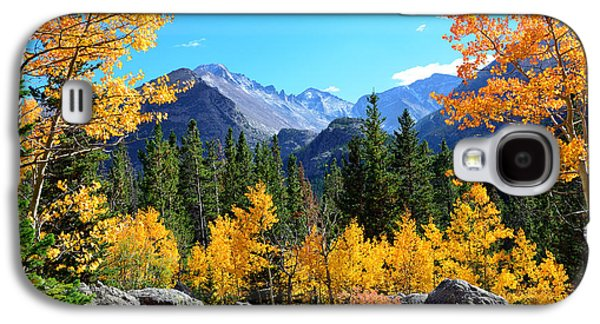 Fort Collins Galaxy S4 Cases - Framed in Gold Galaxy S4 Case by Tranquil Light  Photography