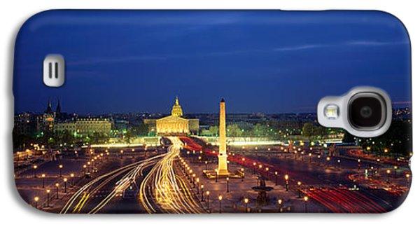 Concord Galaxy S4 Cases - France, Paris, Place De La Concorde Galaxy S4 Case by Panoramic Images