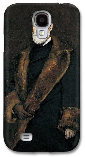 Francis Photographs Galaxy S4 Cases - Francis Boott, 1881 Oil On Canvas Galaxy S4 Case by Frank Duveneck