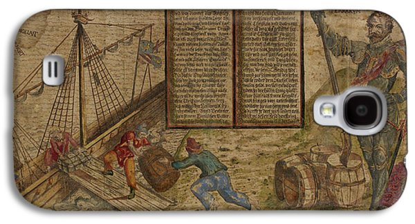 Francis Drake Galaxy S4 Case by British Library