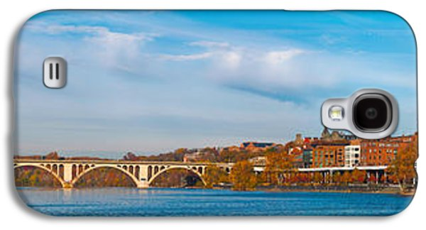 Francis Photographs Galaxy S4 Cases - Francis Scott Key Bridge Galaxy S4 Case by Panoramic Images