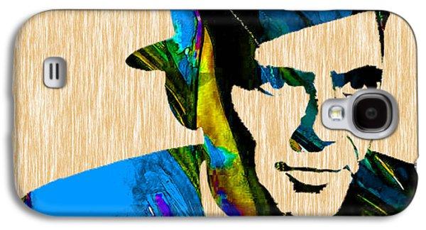 Frank Sinatra Art Galaxy S4 Case by Marvin Blaine
