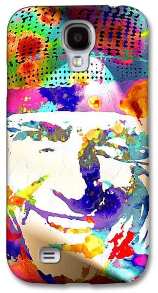 Frank Sinatra Paintings Galaxy S4 Cases - Frank Sinatra Galaxy S4 Case by Daniel Janda