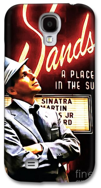 Wing Chee Tong Galaxy S4 Cases - Frank Sinatra I Did It My Way 20150126brun v2 Galaxy S4 Case by Wingsdomain Art and Photography