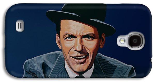 Voice Galaxy S4 Cases - Frank Sinatra Galaxy S4 Case by Paul Meijering