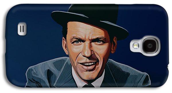 Award Galaxy S4 Cases - Frank Sinatra Galaxy S4 Case by Paul Meijering