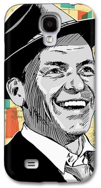Frank Sinatra Pop Art Galaxy S4 Case by Jim Zahniser
