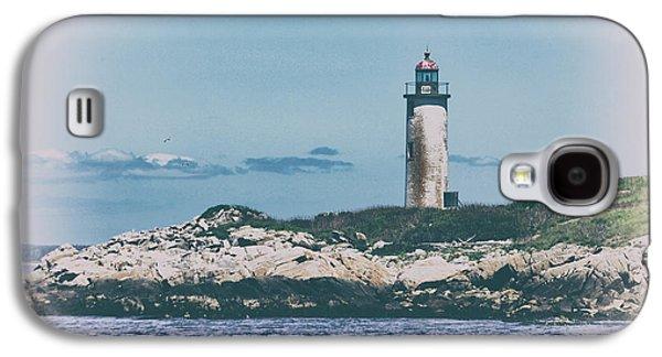 Franklin Island Lighthouse Galaxy S4 Case by Karol Livote