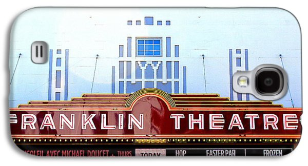 Historic Downtown Franklin Galaxy S4 Cases - Franklin Theatre Galaxy S4 Case by Anthony Jones