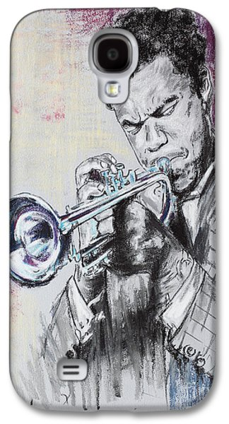 Music Pastels Galaxy S4 Cases - Freddie Hubbard Galaxy S4 Case by Melanie D