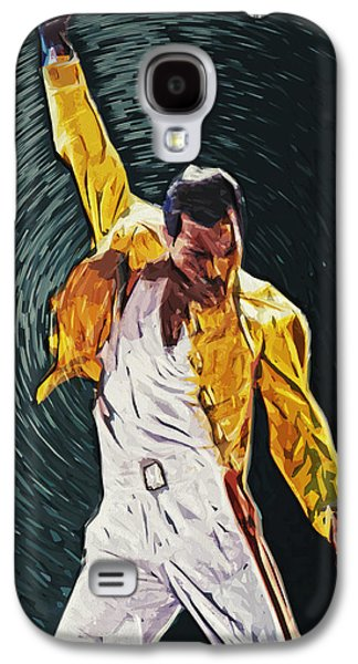 Recently Sold -  - Beatles Galaxy S4 Cases - Freddie Mercury Galaxy S4 Case by Taylan Soyturk