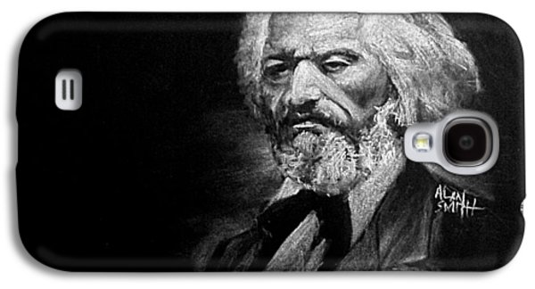 Abolition Drawings Galaxy S4 Cases - Frederick Douglass Galaxy S4 Case by Alan Smith