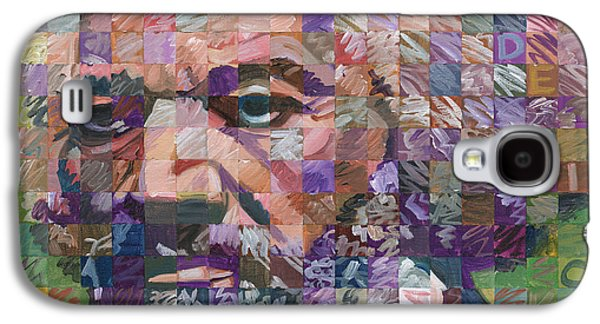 Orator Paintings Galaxy S4 Cases - Frederick Douglass Galaxy S4 Case by Randal Huiskens