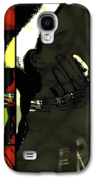 Slavery Mixed Media Galaxy S4 Cases - Free and Idle No More Galaxy S4 Case by Angela Pari  Dominic Chumroo
