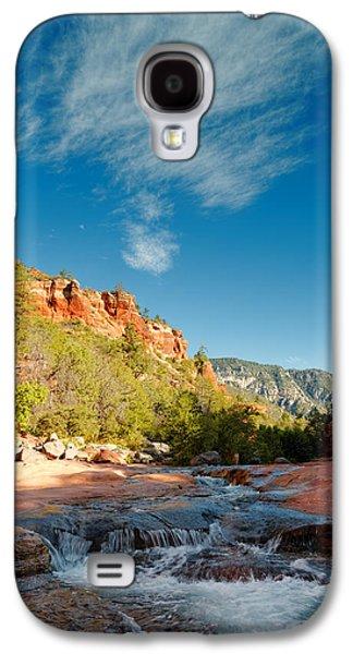 Oak Creek Galaxy S4 Cases - Free flow at Oak Creek Galaxy S4 Case by Silvio Ligutti
